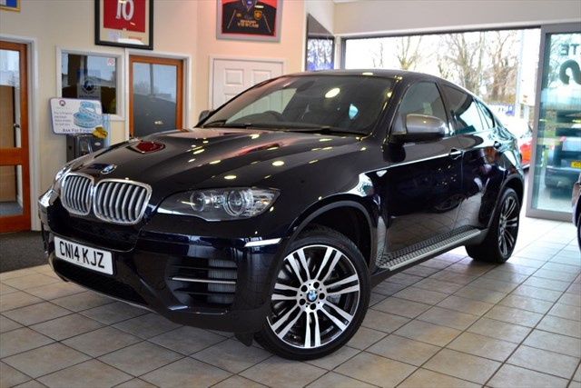 used BMW X6 M M50 D INDIVIDUAL AZURITE BLACK VAT QUALIFYING in forest-of-dean-gloucestershire