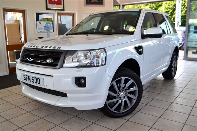 used Land Rover Freelander SD4 SPORT LE in forest-of-dean-gloucestershire