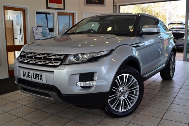 used Land Rover Range Rover Evoque SD4 PRESTIGE in forest-of-dean-gloucestershire