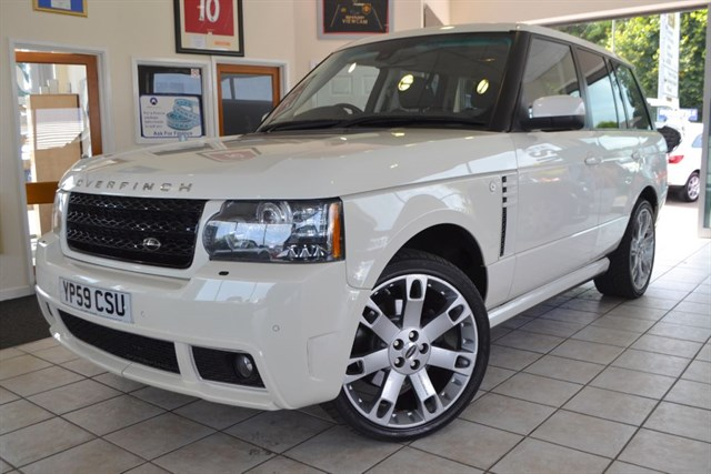 used Land Rover Range Rover TDV8 VOGUE OVERFINCH STYLING H    in forest-of-dean-gloucestershire
