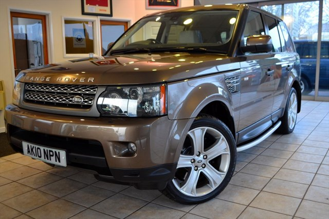 used Land Rover Range Rover Sport TDV8 SPORT HSE COMMAND SHIFT HIGH SPEC in forest-of-dean-gloucestershire