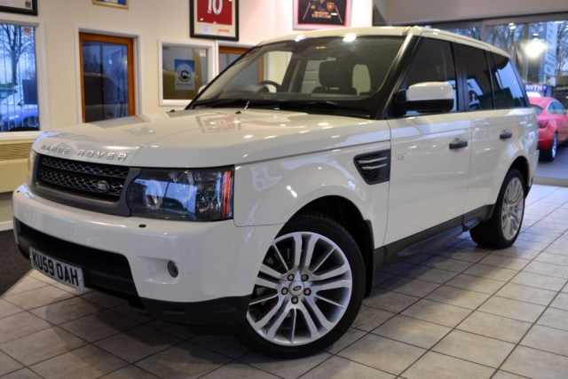 used Land Rover Range Rover Sport TDV6 HSE 3.0 COMMAND SHIFT in forest-of-dean-gloucestershire