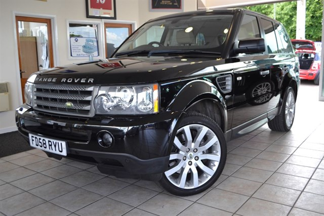 used Land Rover Range Rover Sport TDV6 SPORT HSE ONLY 43000 MILES FULL HISTORY in forest-of-dean-gloucestershire