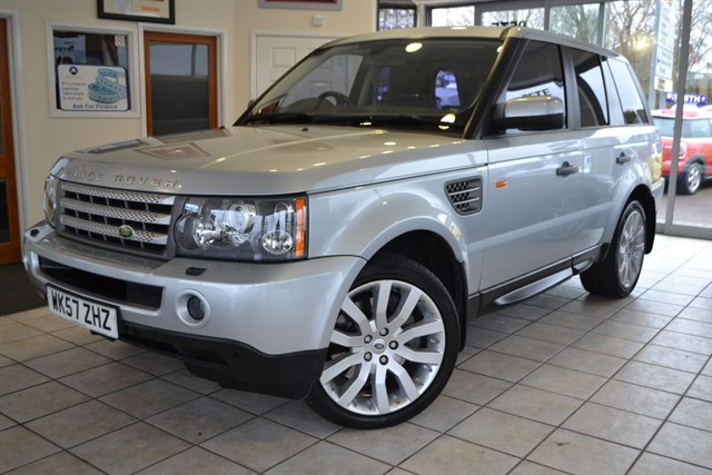 used Land Rover Range Rover Sport 3.6 TDV8 HSE WITH FULL SERVICE HISTORY in forest-of-dean-gloucestershire