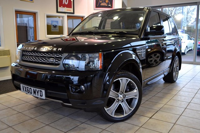used Land Rover Range Rover Sport 5.0 V8 HSE SUPERCHARGED ONE OWNER STUNNING in forest-of-dean-gloucestershire