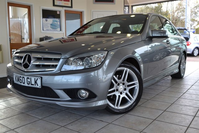 used Mercedes C250 CDI BLUEEFFICIENCY SPORT in forest-of-dean-gloucestershire