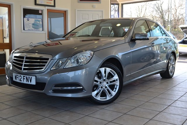 used Mercedes E220 CDI BLUEEFFICIENCY ONE OWNER WITH NAVIGATION in forest-of-dean-gloucestershire