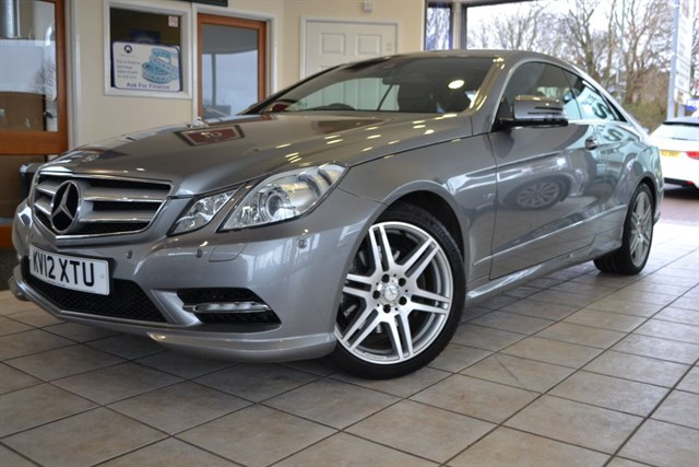 used Mercedes E250 CDI BLUEEFFICIENCY COUPE WITH FULL MERCEDES SERVICE HISTORY in forest-of-dean-gloucestershire