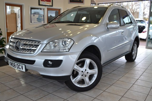 used Mercedes ML320 CDI SPORT WITH NAVIGATION in forest-of-dean-gloucestershire
