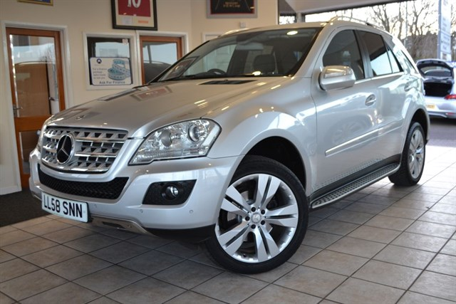 used Mercedes ML320 CDI SPORT FACE LIFT MODEL in forest-of-dean-gloucestershire