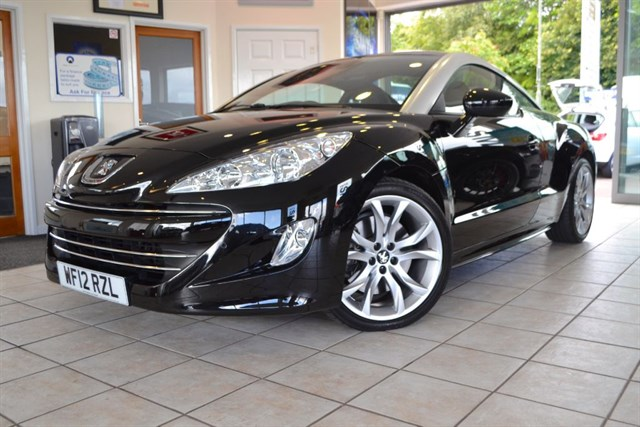 used Peugeot RCZ HDI GT ONE OWNER ONLY 5000 MILES in forest-of-dean-gloucestershire
