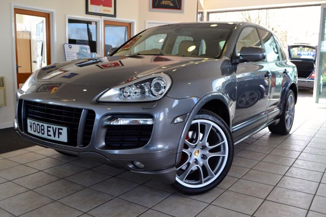 used Porsche Cayenne 4.8 GTS TIPTRONIC S REAR ENTERTAINMENT SYSTEM in forest-of-dean-gloucestershire
