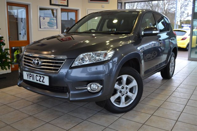 used Toyota  RAV-4 XT-R D-4D in forest-of-dean-gloucestershire