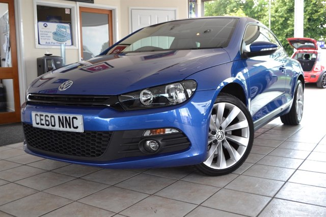 used VW Scirocco GT TDI ONE OWNER ONLY 29000 MILES in forest-of-dean-gloucestershire