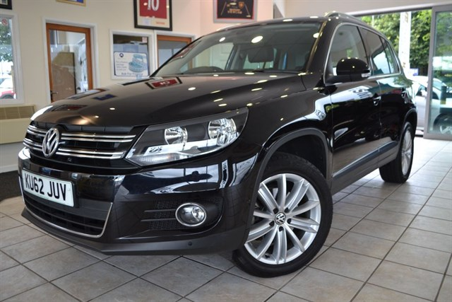 used VW Tiguan SPORT TDI BLUEMOTION TECHNOLOGY 4MOTION in forest-of-dean-gloucestershire