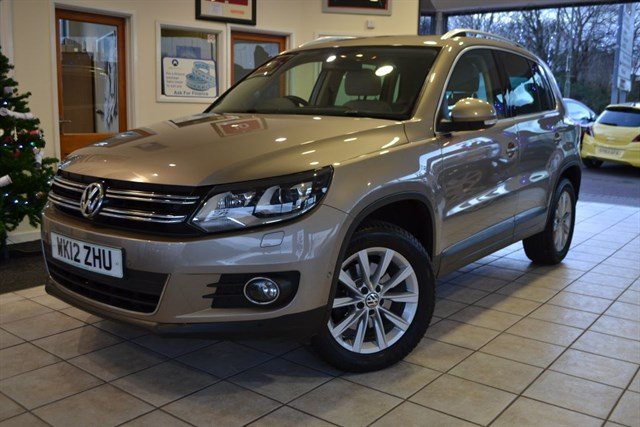 used VW Tiguan SE TDI 4MOTION in forest-of-dean-gloucestershire