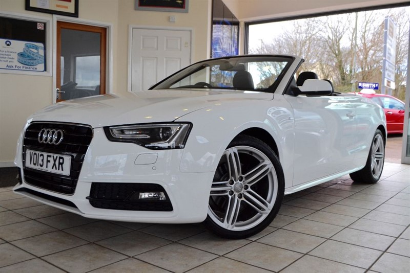 used Audi A5 TDI S LINE SPECIAL EDITION CONVERTIBLE  WITH GREAT SPEC in forest-of-dean-gloucestershire