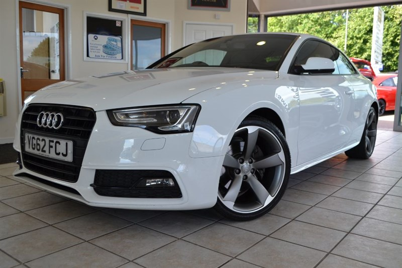 used Audi A5 TFSI S LINE BLACK EDITION in forest-of-dean-gloucestershire