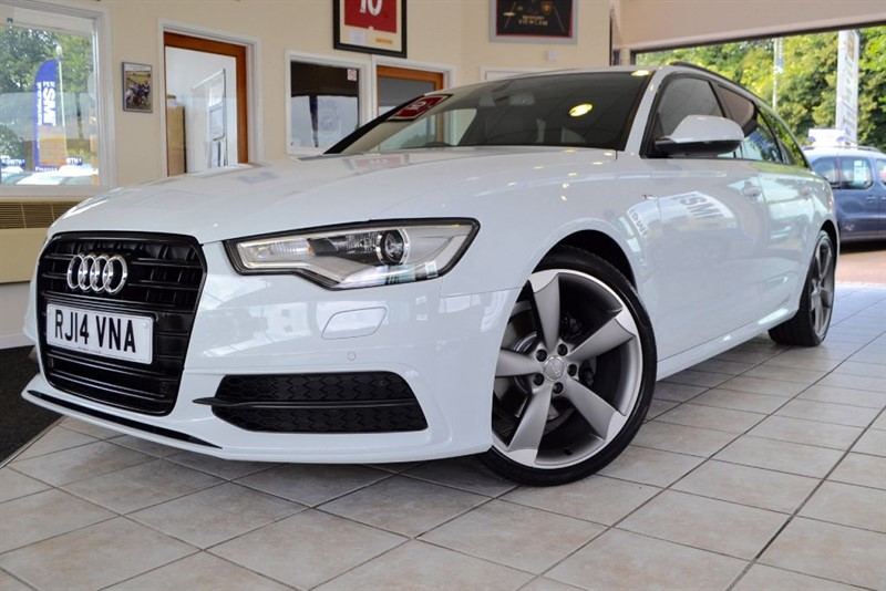 used Audi A6 Avant TDI ULTRA S LINE BLACK EDITION in forest-of-dean-gloucestershire