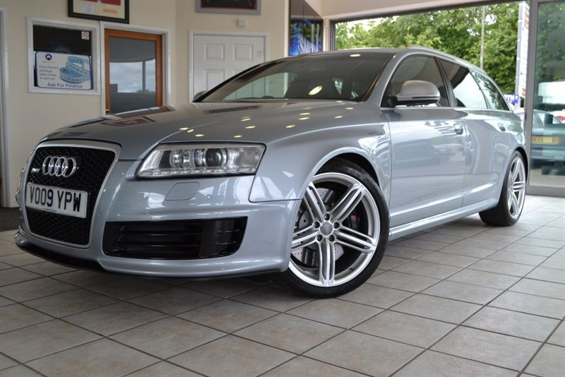used Audi RS6 Avant RS6 AVANT QUATTRO V10 WITH FULL AUDI SERVICE HISTORY in forest-of-dean-gloucestershire