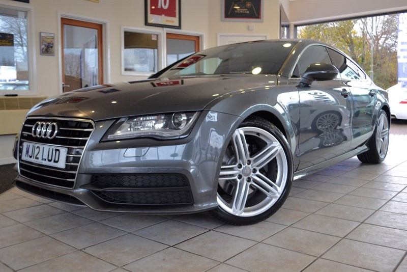 used Audi A7 TDI QUATTRO S LINE WITH HIGH SPECIFICATION in forest-of-dean-gloucestershire