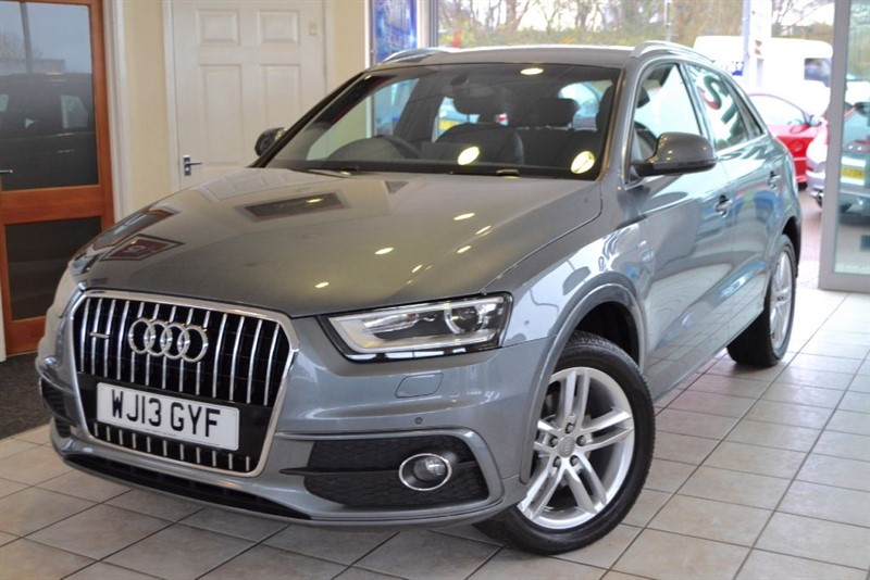 used Audi Q3 TDI QUATTRO S LINE ONE OWNER WITH NAVIGATION in forest-of-dean-gloucestershire