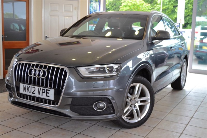 used Audi Q3 TFSI QUATTRO S LINE ONE OWNER FROM NEW in forest-of-dean-gloucestershire