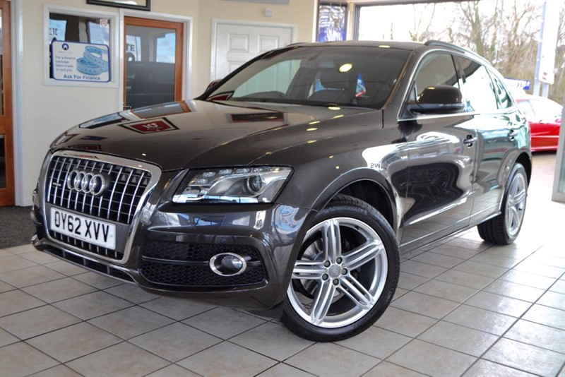 used Audi Q5 TDI QUATTRO S LINE PLUS WITH PAN ROOF+NAV in forest-of-dean-gloucestershire