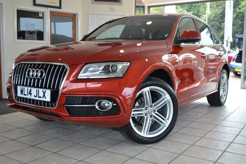 used Audi Q5 TDI QUATTRO S LINE PLUS in forest-of-dean-gloucestershire