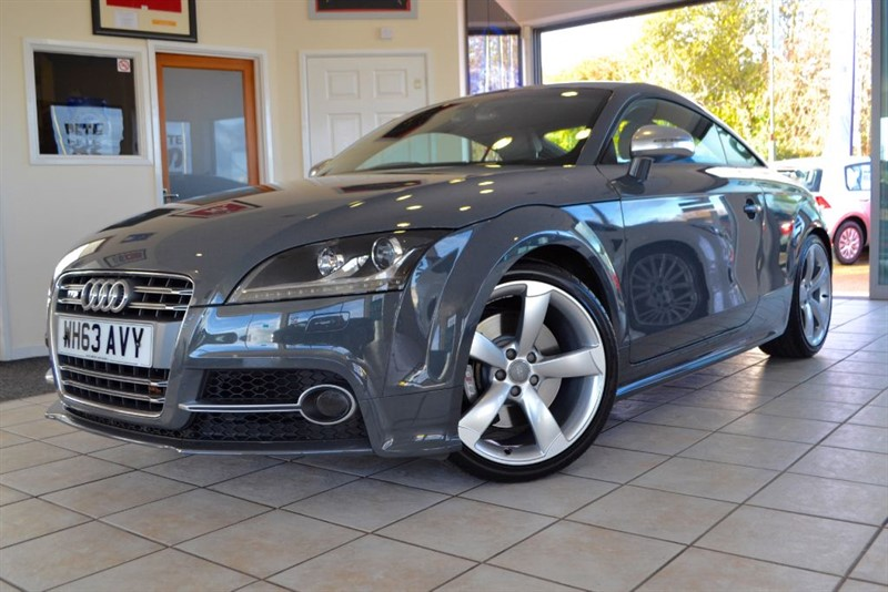 used Audi TT TTS TFSI QUATTRO LIMITED EDITION 2014 1 OF 500 in forest-of-dean-gloucestershire