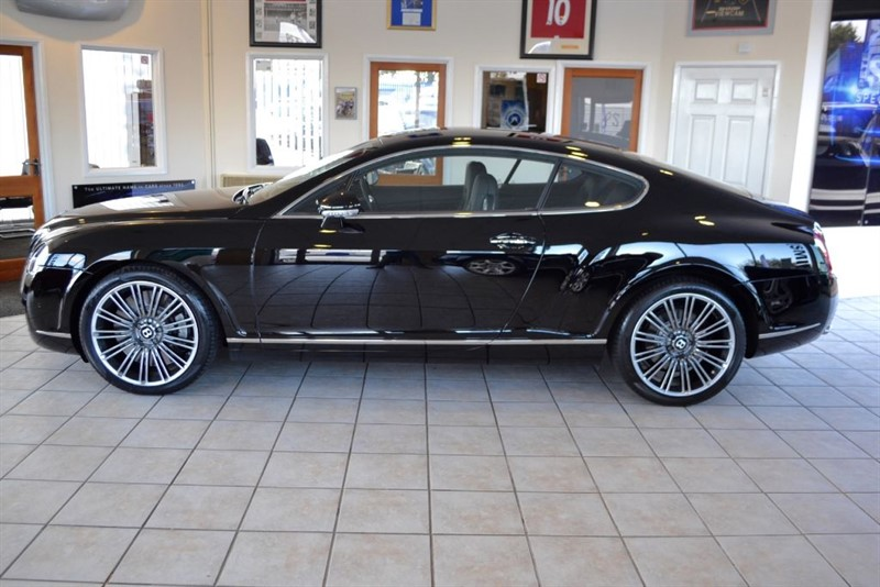 used Bentley Continental GT SPEED WITH MULLINER DRIVING SPECIFICATION in forest-of-dean-gloucestershire