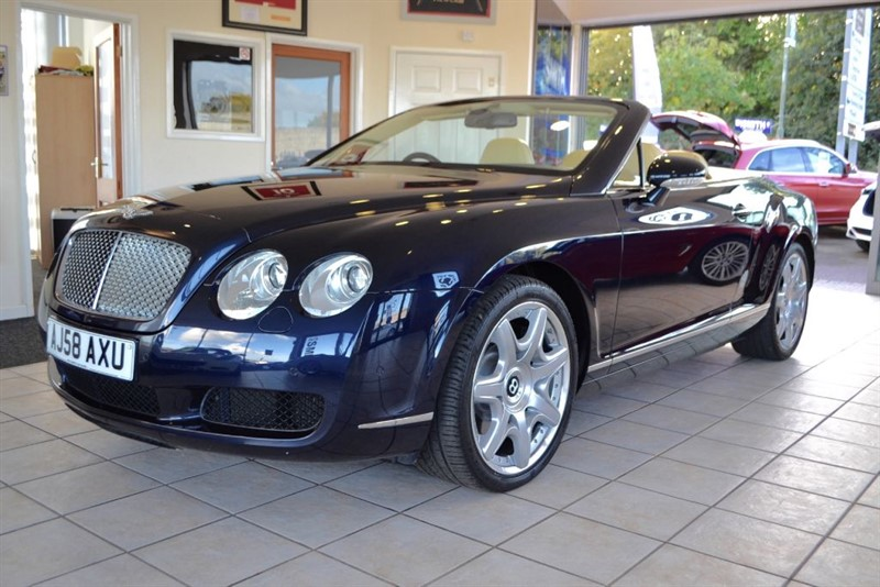 used Bentley Continental GTC ONE OWNER WITH FULL BENTLEY SERVICE HISTORY in forest-of-dean-gloucestershire
