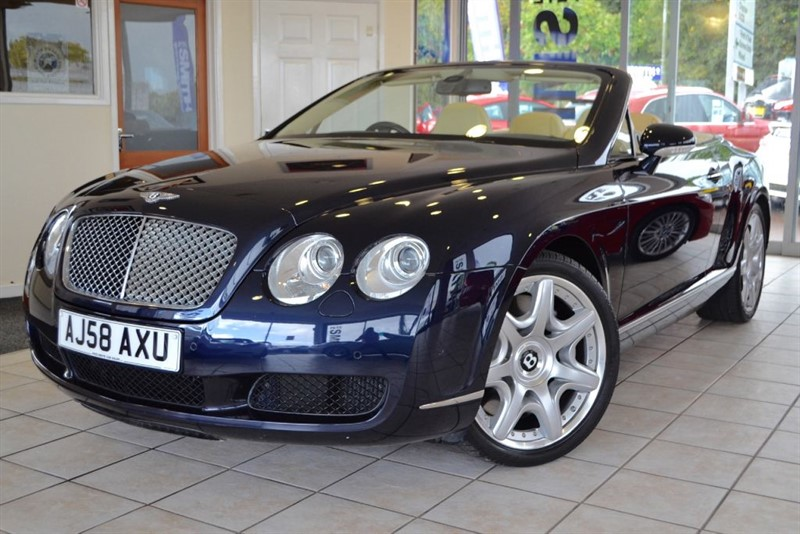 used Bentley Continental GTC FULL BENTLEY SERVICE HISTORY in forest-of-dean-gloucestershire