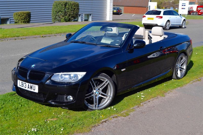 used BMW 320d M SPORT CONVERTIBLE WITH SERVICE PACK UNTILL 2018 in forest-of-dean-gloucestershire