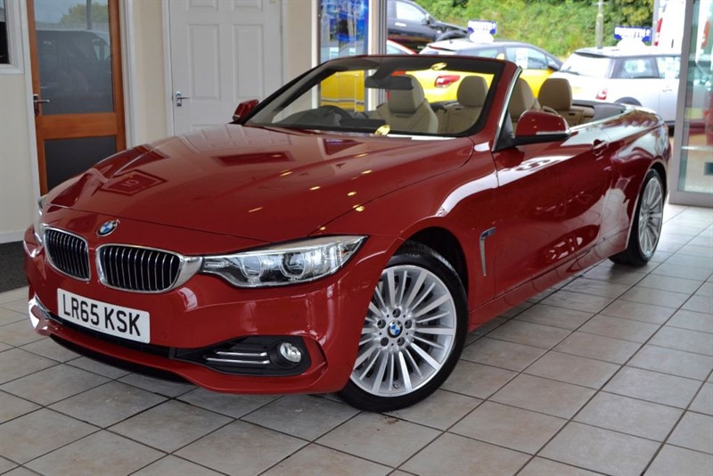 used BMW 428i LUXURY WITH NAVIGATION+AIR SCARF in forest-of-dean-gloucestershire