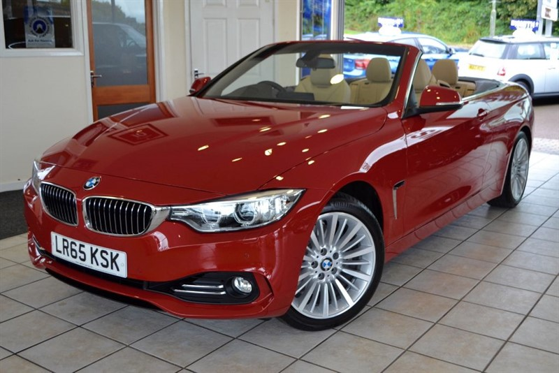 used BMW 428i CONVERTIBLE LUXURY WITH NAVIGATION+SERVICE PACK in forest-of-dean-gloucestershire