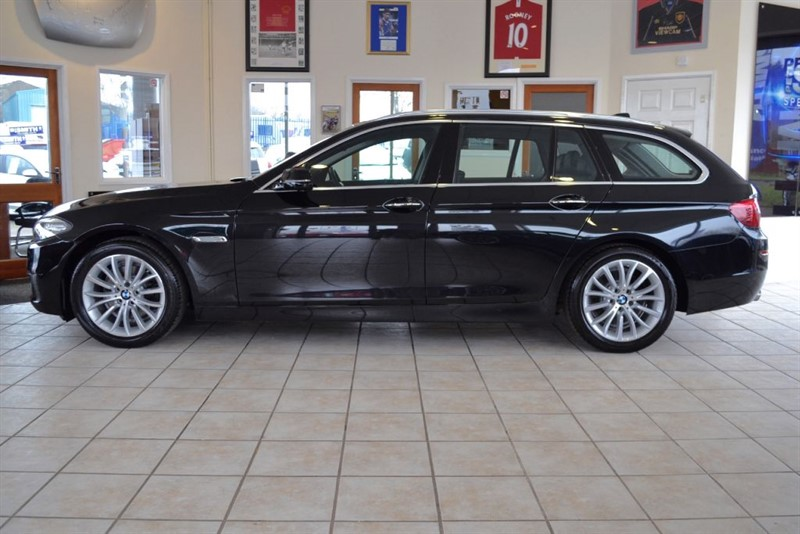 used BMW 520d LUXURY TOURING WITH JUST THE ONE OWNER FROM NEW in forest-of-dean-gloucestershire