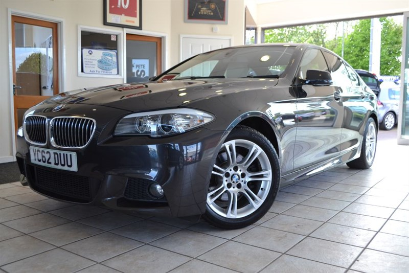 used BMW 520d M SPORT AUTOMATIC FULL LEATHER AND NAVIGATION in forest-of-dean-gloucestershire