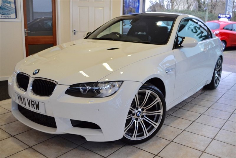 used BMW M3 COUPE DCT  ALPINE WHITE ONLY 43000 MILES FROM NEW WITH BMW SERVCE HISTORY in forest-of-dean-gloucestershire