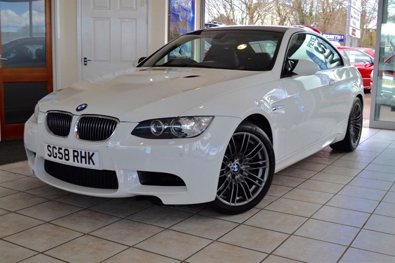 used BMW M3 COUPE 4.0 V8 DCT WITH FULL BMW SERVICE HISTORY in forest-of-dean-gloucestershire