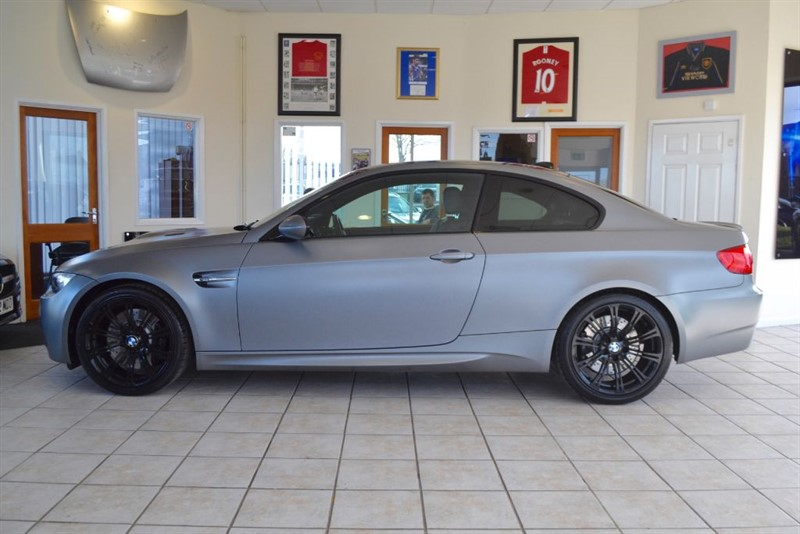 used BMW M3 DCT FROZEN GREY MATT INDIVIDUAL PAINT in forest-of-dean-gloucestershire