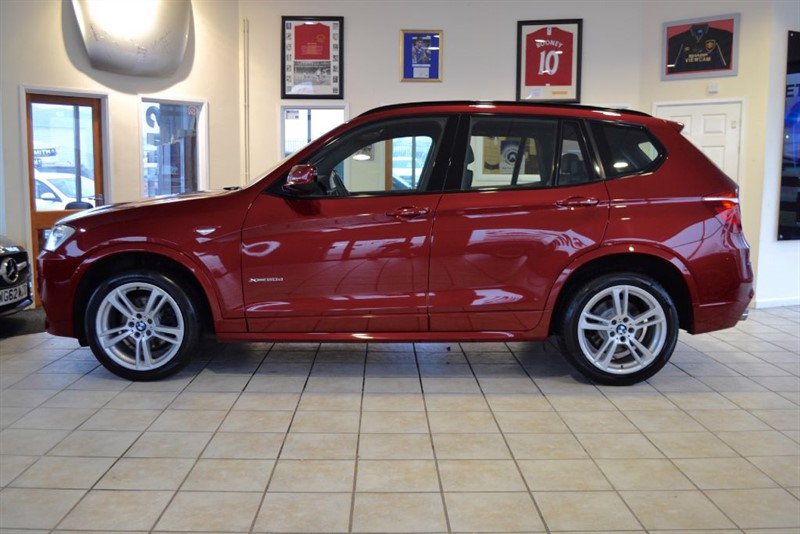 used BMW X3 XDRIVE20D M SPORT WITH JUST THE ONE OWNER FROM NEW in forest-of-dean-gloucestershire