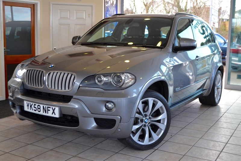 used BMW X5 SD M SPORT ONE OWNER WITH FULL BMW SERVICE HISTORY in forest-of-dean-gloucestershire