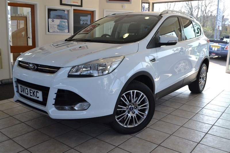 used Ford Kuga TITANIUM TDCI NEW SHAPE in forest-of-dean-gloucestershire