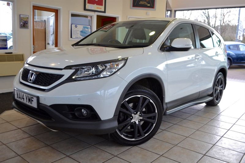 used Honda CR-V I-DTEC BLACK EDITION ONE OWNER in forest-of-dean-gloucestershire