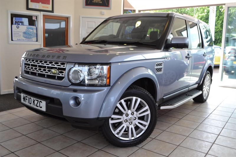 used Land Rover Discovery 4 TDV6 HSE WITH FANTASTIC SPEC!! in forest-of-dean-gloucestershire