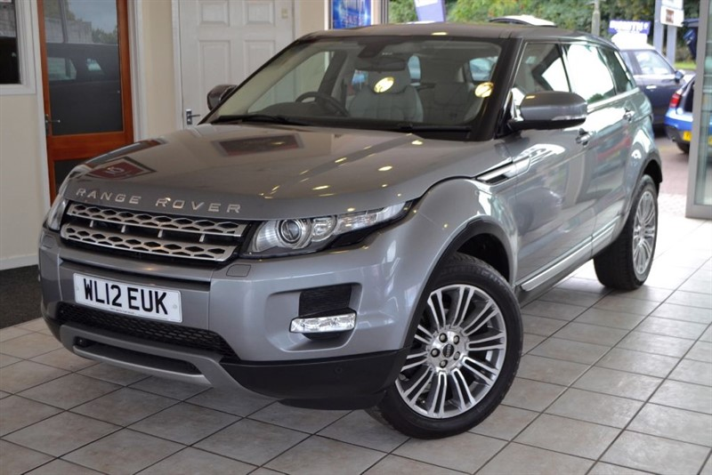 used Land Rover Range Rover Evoque SD4 PRESTIGE ONE OWNER FROM NEW in forest-of-dean-gloucestershire