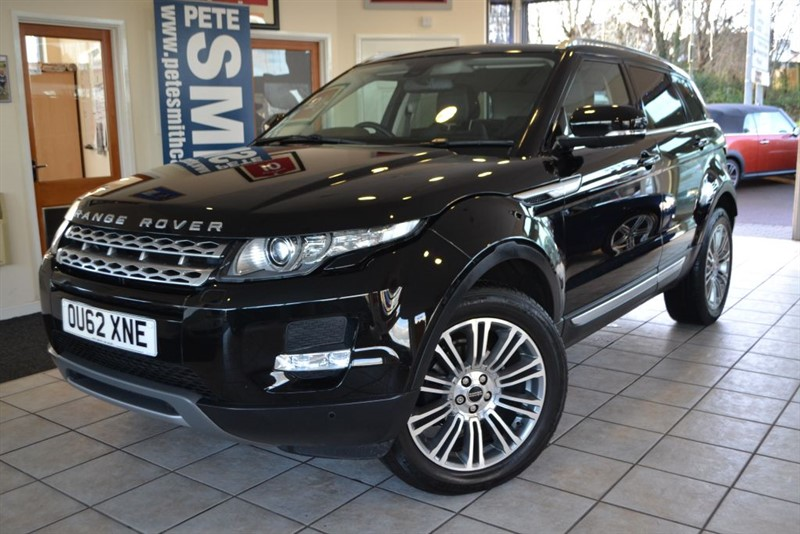 used Land Rover Range Rover Evoque SD4 PRESTIGE HIGH SPECIFICATIONN in forest-of-dean-gloucestershire