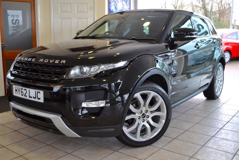used Land Rover Range Rover Evoque SD4 DYNAMIC in forest-of-dean-gloucestershire
