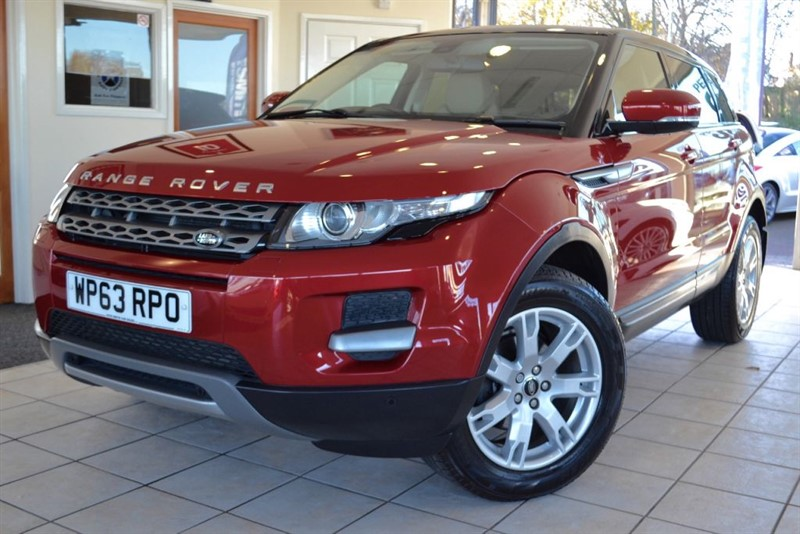 used Land Rover Range Rover Evoque SD4 PURE TECH WITH JUST THE ONE OWNER FROM NEW in forest-of-dean-gloucestershire